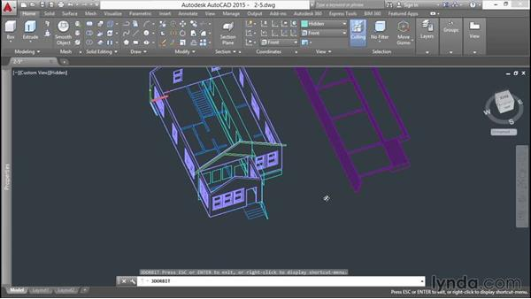 Extruding a roof: 3D Printing a Scale Model with AutoCAD
