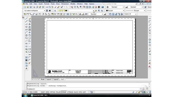 Layouts pt. 4: Reusing layouts: AutoCAD 2008 Essential Training
