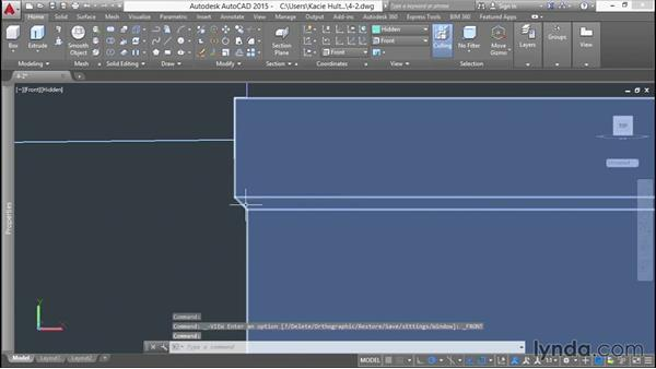 Adding chamfers to overhangs: 3D Printing a Scale Model with AutoCAD