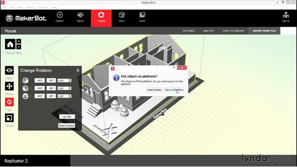 3D printing with a MakerBot: 3D Printing a Scale Model with AutoCAD