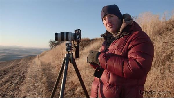 Shooting a panorama: Landscape Photography: Washington's Palouse Region