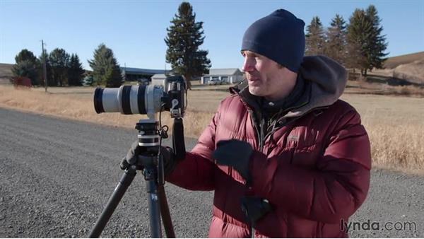 Incorporating man-made objects into a landscape shot: Landscape Photography: Washington's Palouse Region