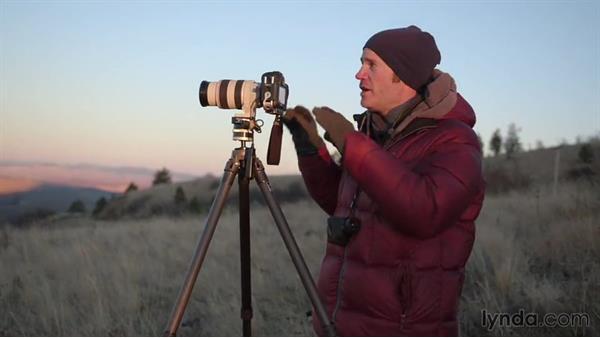 Shooting the last light of the day: Landscape Photography: Washington's Palouse Region