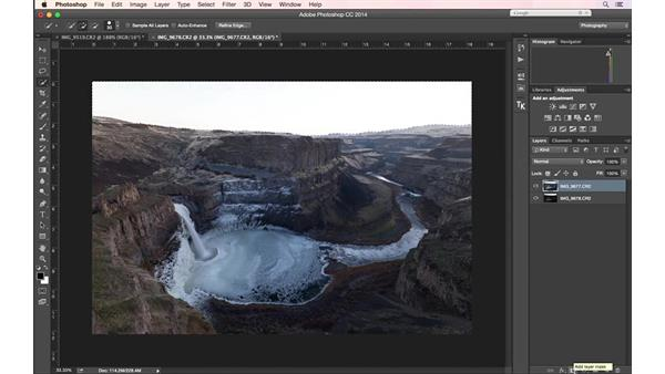 Blending two images in post for exposure: Landscape Photography: Washington's Palouse Region