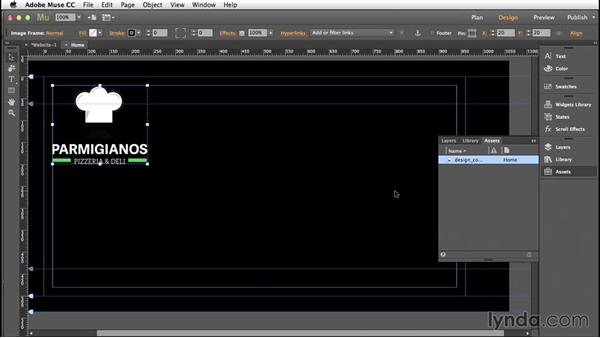 Placing Photoshop files into Muse: Creative Quick Tips