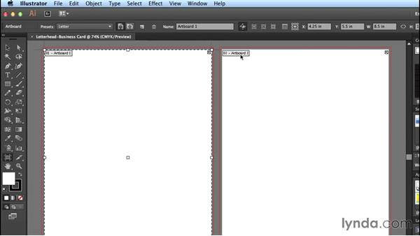 Creating a new document: Designing Templates with Illustrator