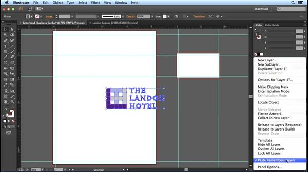 Adding artwork: Designing Templates with Illustrator