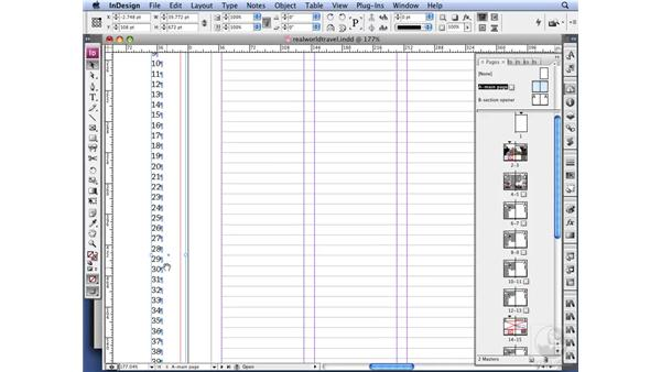 Adding line numbers: InDesign CS3 Long Documents