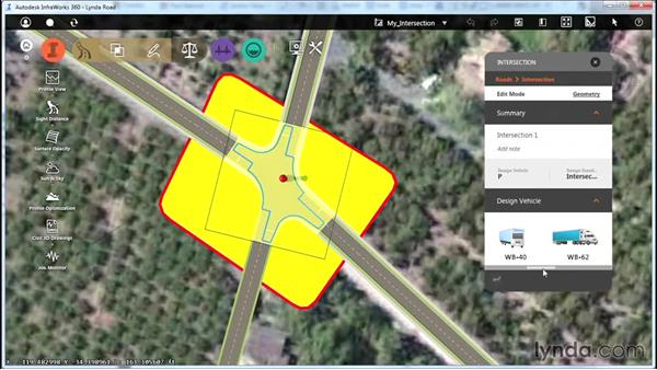 Designing intersections: Up and Running with Roadway Design for InfraWorks 360