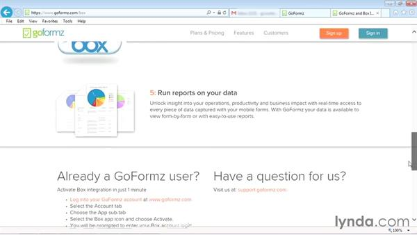 Setting up GoFormz: Box OneCloud Apps for Mobile Productivity