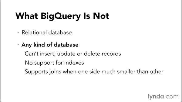 Working with BigQuery: Up and Running with Google Cloud Platform