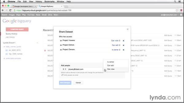 Managing data projects: Up and Running with Google Cloud Platform