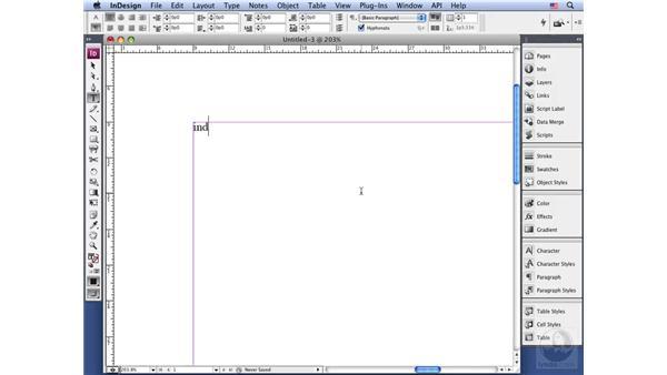 Auto correction: InDesign CS3 Long Documents