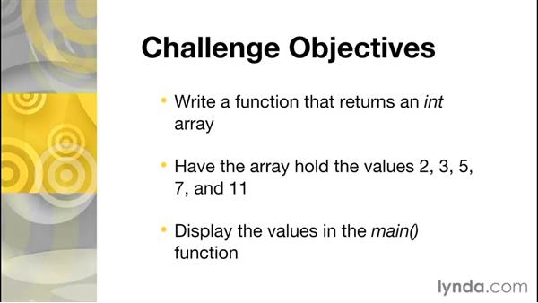 Challenge: Setting up a static variable: Further Topics in C Programming