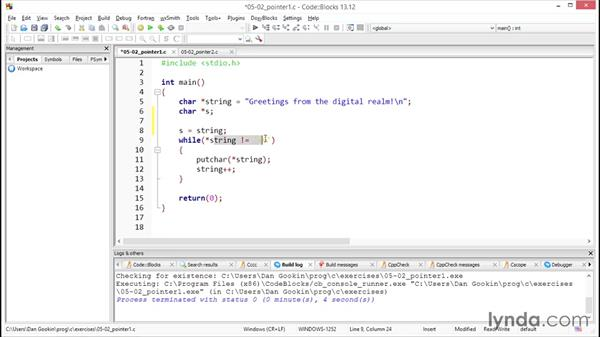 How to bind the asterisk operator: Further Topics in C Programming