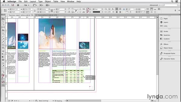 173 Editing table set up from the keyboard: InDesign Secrets