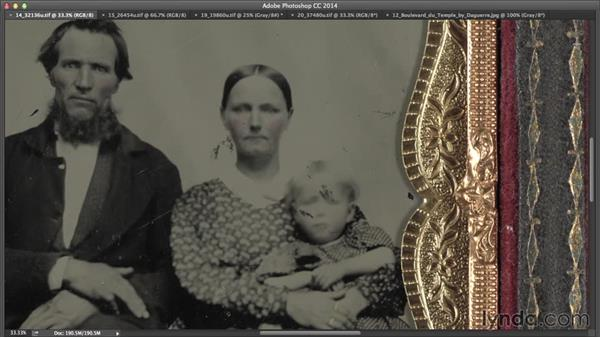 Causes from the photographic process: Creating Distressed and Vintage Photo Effects with Photoshop