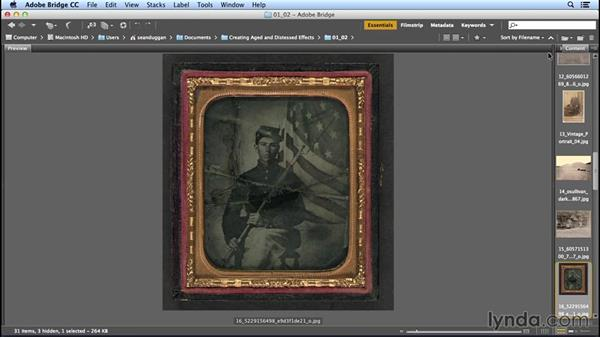 Causes from the developing and printing processes: Creating Distressed and Vintage Photo Effects with Photoshop