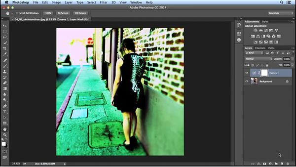 Creating a cross-processed color effect: Creating Distressed and Vintage Photo Effects with Photoshop