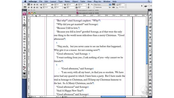 GREP overview: InDesign CS3 Long Documents