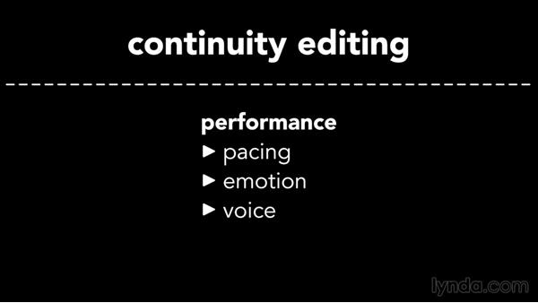"Exploring the ""rules"" of continuity editing: Introduction to Video Editing"