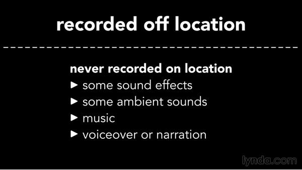 A look at sound design: Introduction to Video Editing