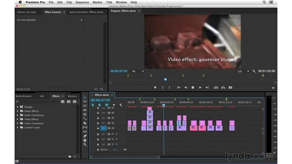 A look at effect design: Introduction to Video Editing