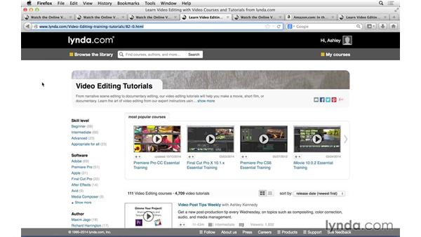 Next steps: Introduction to Video Editing