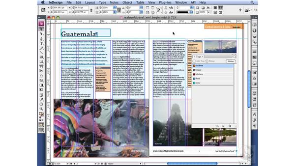 Applying XML tags: InDesign CS3 Long Documents