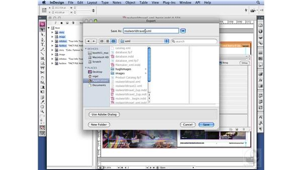 Exporting XML: InDesign CS3 Long Documents