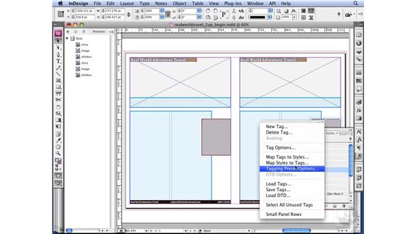 Importing data: InDesign CS3 Long Documents