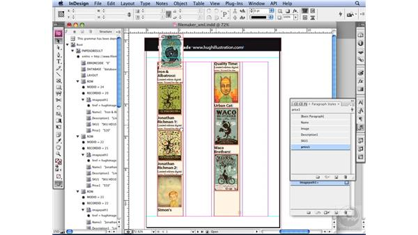 Using FileMaker with InDesign: InDesign CS3 Long Documents