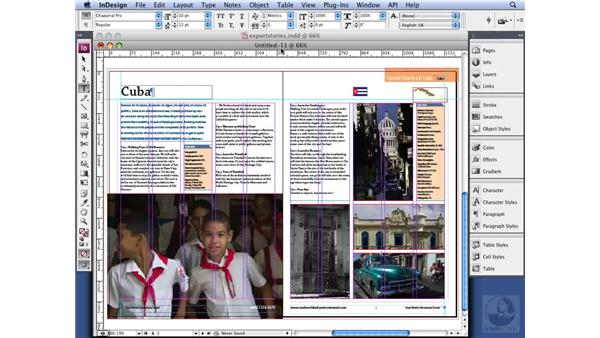 Saving for use with CS2: InDesign CS3 Long Documents