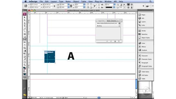 Creating interactive PDFs: InDesign CS3 Long Documents