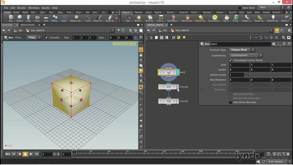 Understanding the interface: Up and Running with Houdini