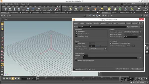 Setting Houdini preferences: Up and Running with Houdini