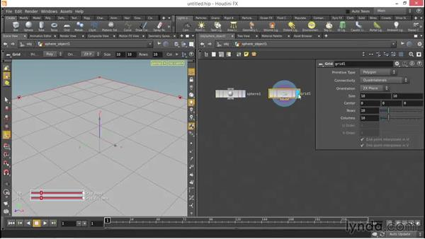 Using the Copy node: Up and Running with Houdini