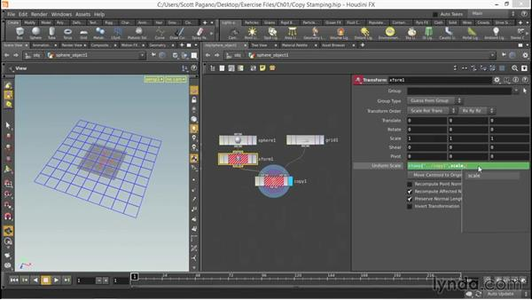 The power of copy stamping: Up and Running with Houdini