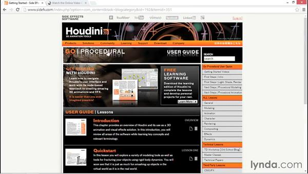 Next steps: Up and Running with Houdini
