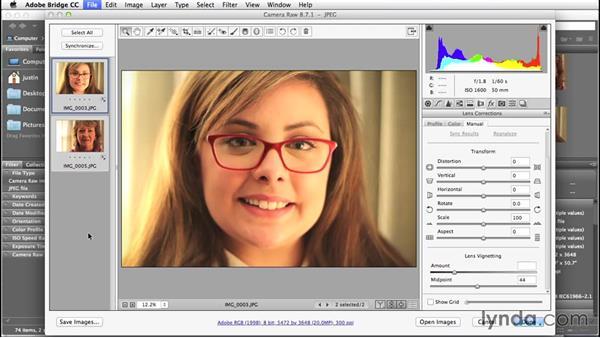 Editing multiple photos using Camera RAW & Bridge: Creative Quick Tips