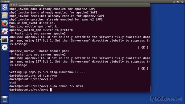 Installing PHP on Linux: Installing Apache, MySQL, and PHP