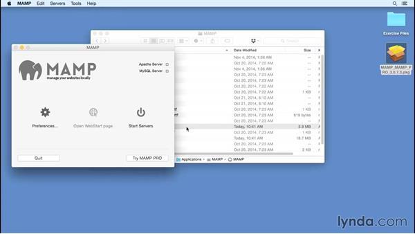 Installing MAMP on Mac OS X: Installing Apache, MySQL, and PHP