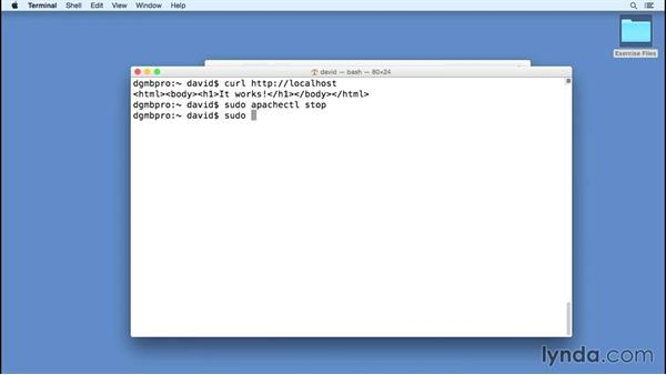 Detecting and handling port conflicts on Mac OS X: Installing Apache, MySQL, and PHP
