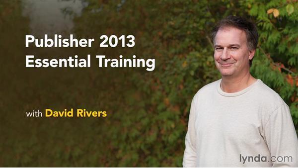 Next steps: Publisher 2013 Essential Training