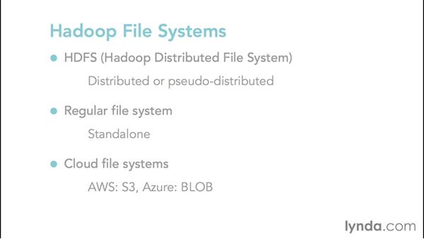 Exploring Hadoop Distributed File System (HDFS) and other file systems: Hadoop Fundamentals