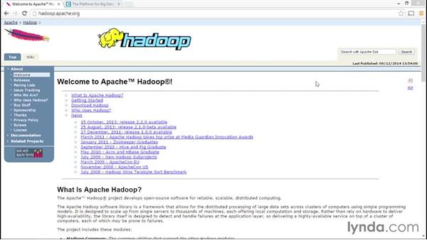 Exploring the Apache and Cloudera Hadoop distributions: Hadoop Fundamentals