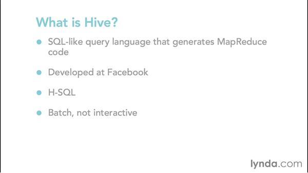 Introducing Hive and HBase: Hadoop Fundamentals
