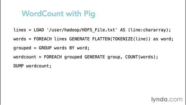 Exploring use cases for Pig: Hadoop Fundamentals