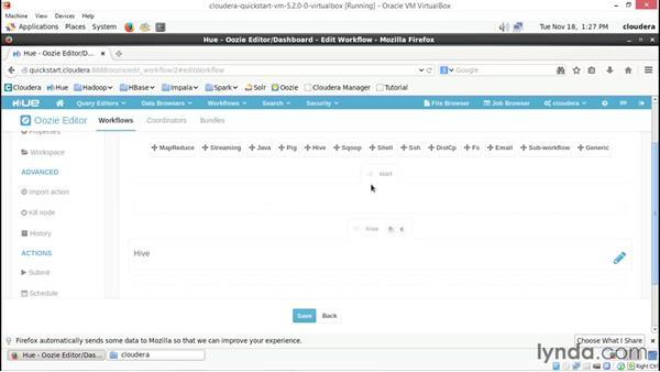 Building a workflow with Oozie: Hadoop Fundamentals