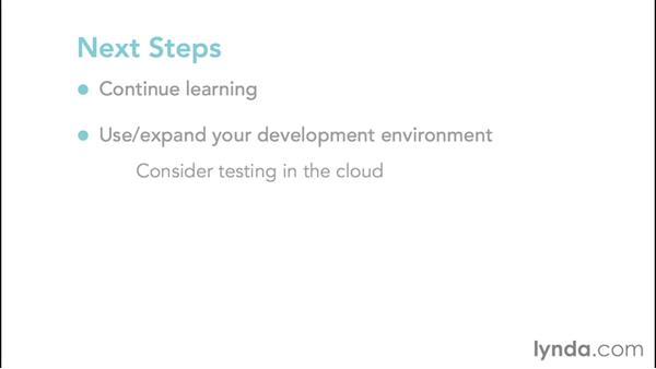 Next steps: Hadoop Fundamentals